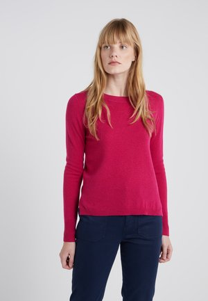 LAYLA CREW - Strickpullover - fresh berry