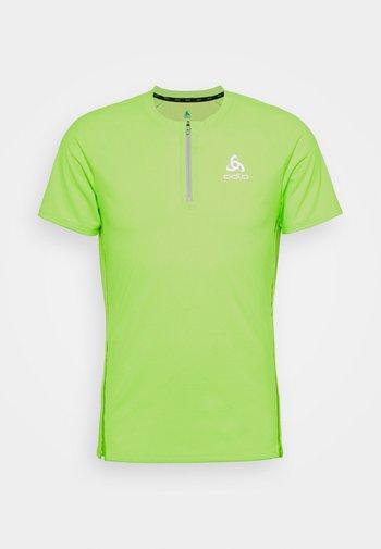 AXALP TRAIL ZIP - T-shirt imprimé - lounge lizard