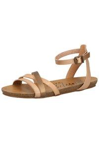 Blowfish Malibu - Ankle cuff sandals - blush/rose gold/amber/blush - 2
