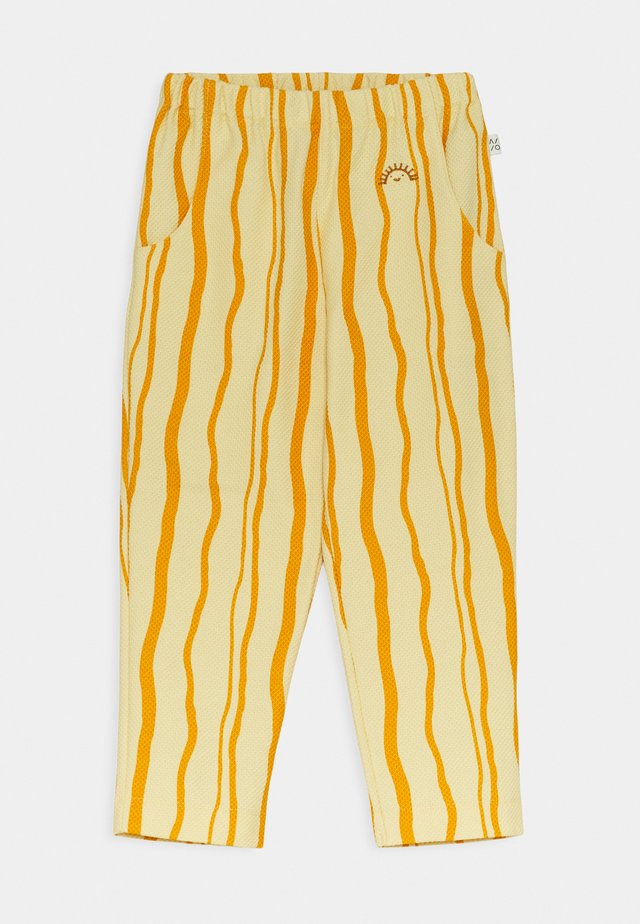 SAND WAVE UNISEX - Trousers - straw