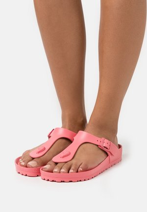 GIZEH - T-bar sandals - watermelon