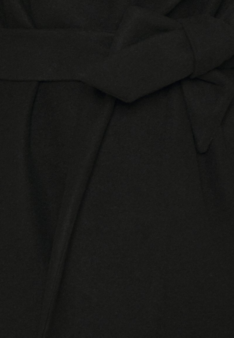 ONLY - ONLTRILLION BELT HOODIE COATIGAN - Short coat - black