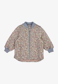 Wheat - Light jacket - dusty dove flowers - 0