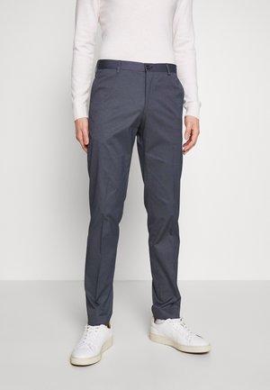 FLEX MICRO STRIPE SLIM FIT PANT - Pantaloni - blue