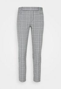 Banana Republic - MODERN SLOAN KIKI PLAID - Trousers - black/blanco - 4