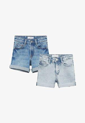 Jeansshort - middenblauw