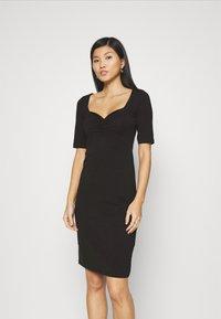 Anna Field - Pouzdrové šaty - black - 0