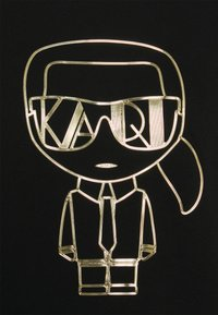 KARL LAGERFELD - IKONIK ART DECO - Sweatshirt - black - 2