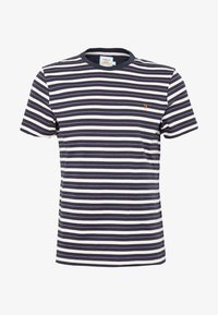 Farah - MANSOUR TEE - T-shirt z nadrukiem - true navy - 3