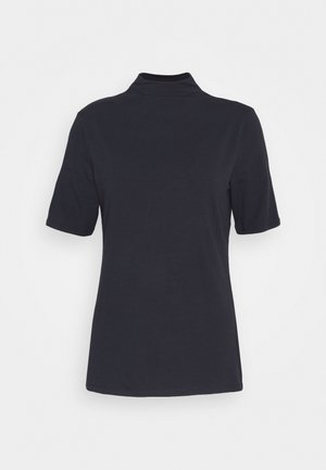 FUNNEL NECK - Long sleeved top - deep blue