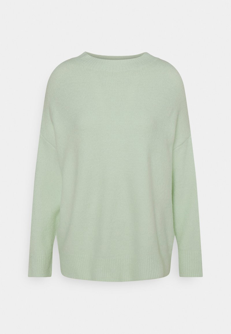 Missguided Petite - MOUSSE HIGH NECK OVERSIZED JUMPER - Trui - mint