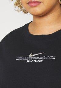 Nike Sportswear - Vestido ligero - black/white - 4