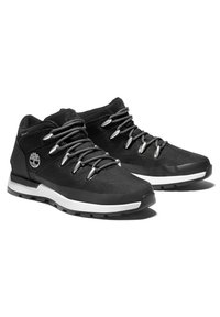 Timberland - SPRINT TREKKER MID FABRIC WP - Sneaker low - black mesh - 1