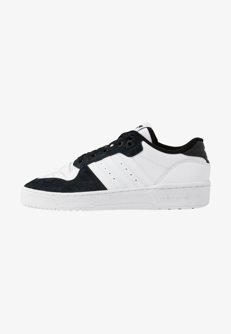 adidas Originals - RIVALRY - Trainers - footwear white/core black