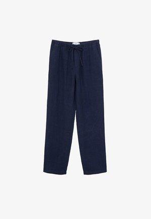 Spodnie materiałowe - blu marino scuro