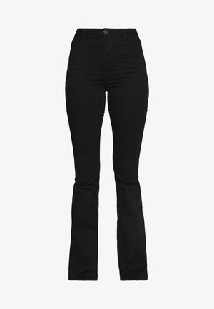 LAWLESS FLARE - Jeansy Skinny Fit - black
