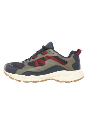 M ARCHIVE TRAIL KUNA CREST - Baskets basses - urban navy/burnt olve grn