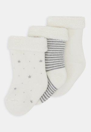 PAIRES CHAUSSETTE 3 PACK - Chaussettes - white