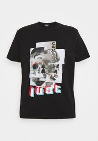 Just Cavalli - Print T-shirt - black