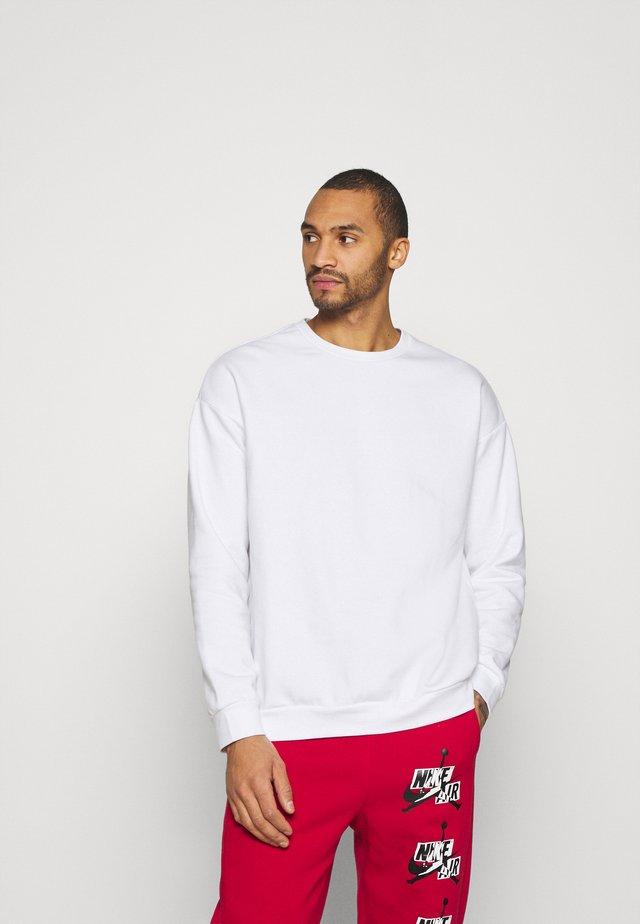 UNISEX - Felpa - white