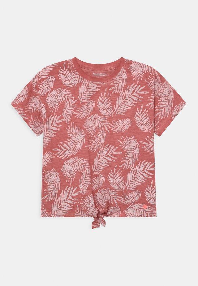 TEEN - T-shirt print - indian red
