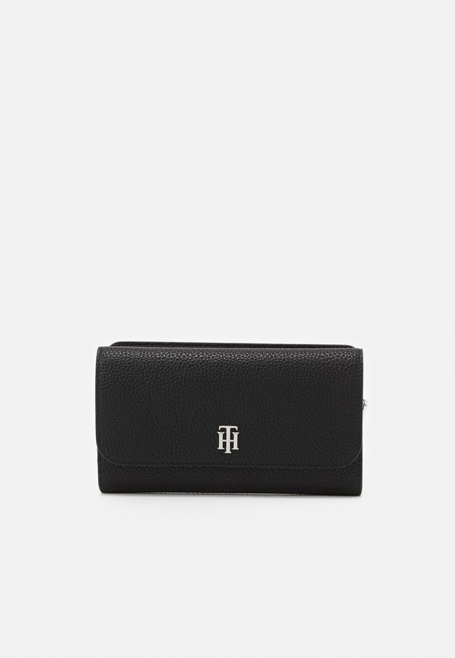 ESSENCE FLAP WALLET - Wallet - black
