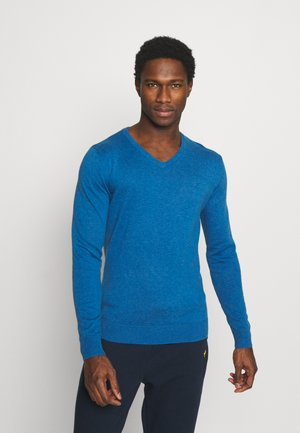 Jumper - royal blue melange