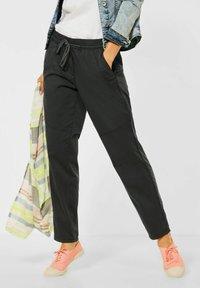 Cecil - CASUAL FIT HOSE - Trousers - grün - 0