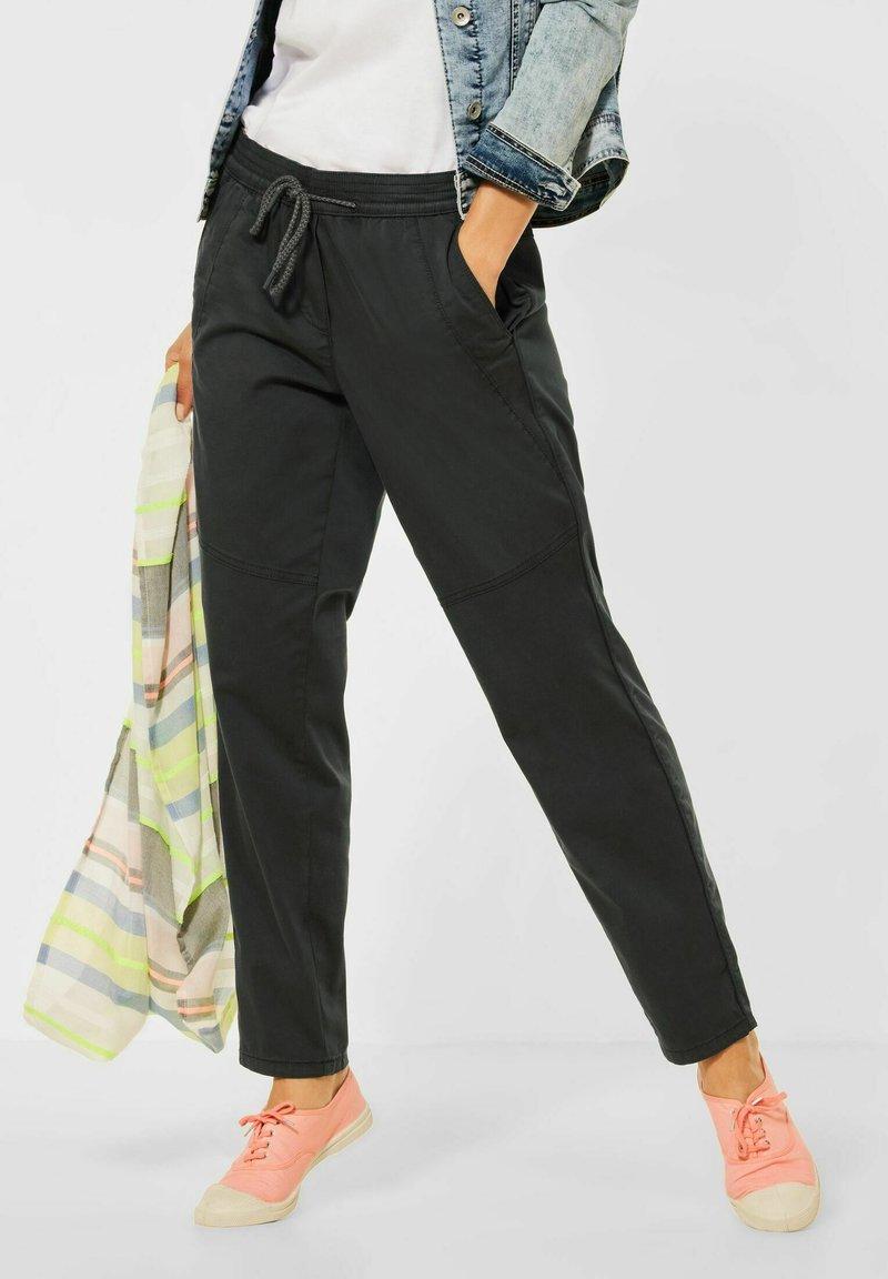 Cecil - CASUAL FIT HOSE - Trousers - grün