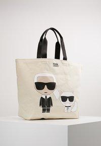 KARL LAGERFELD - IKONIK  - Shopping Bag - white - 0