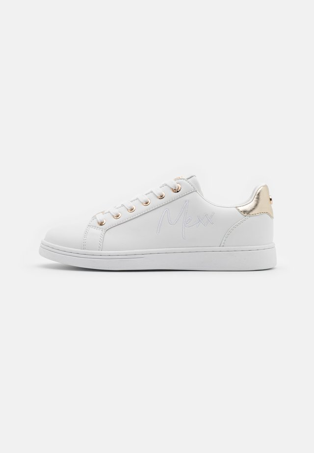 GLIB - Sneakers basse - white/gold