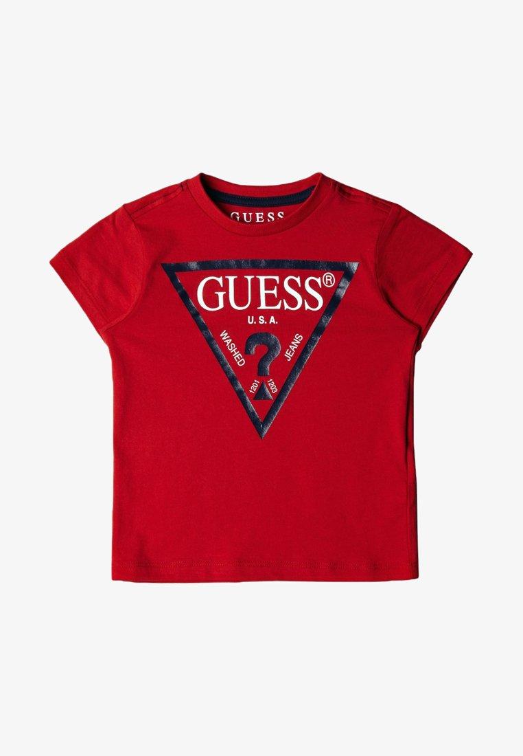 Guess - TODDLER CORE - T-shirt imprimé - rouge