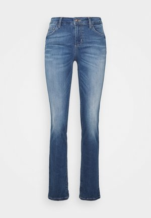 MAGNETIC - Džíny Straight Fit - denim blue join wash
