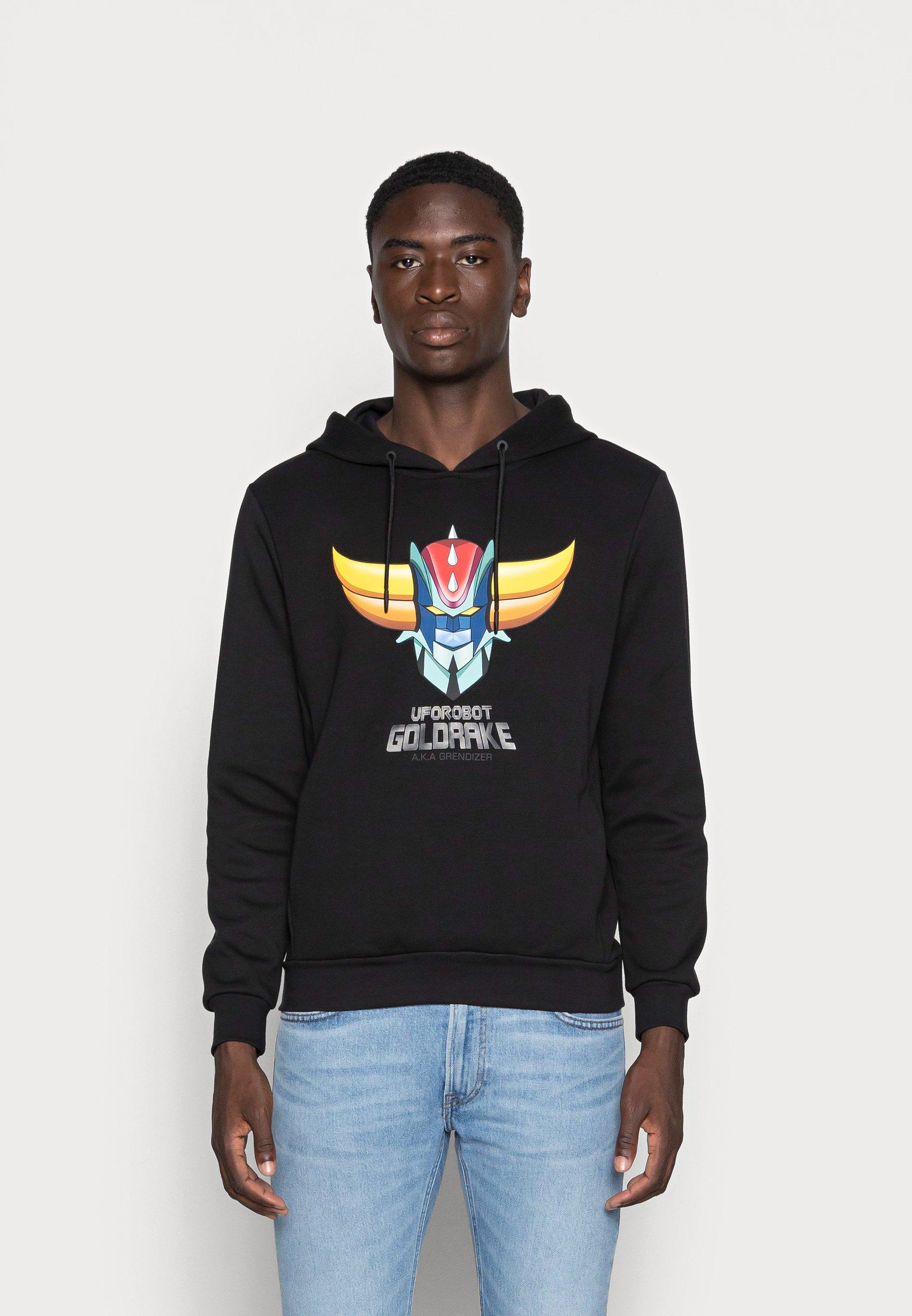 Herren HOODIE REGULAR FIT WITH PHOTOGRAFIC - Sweatshirt