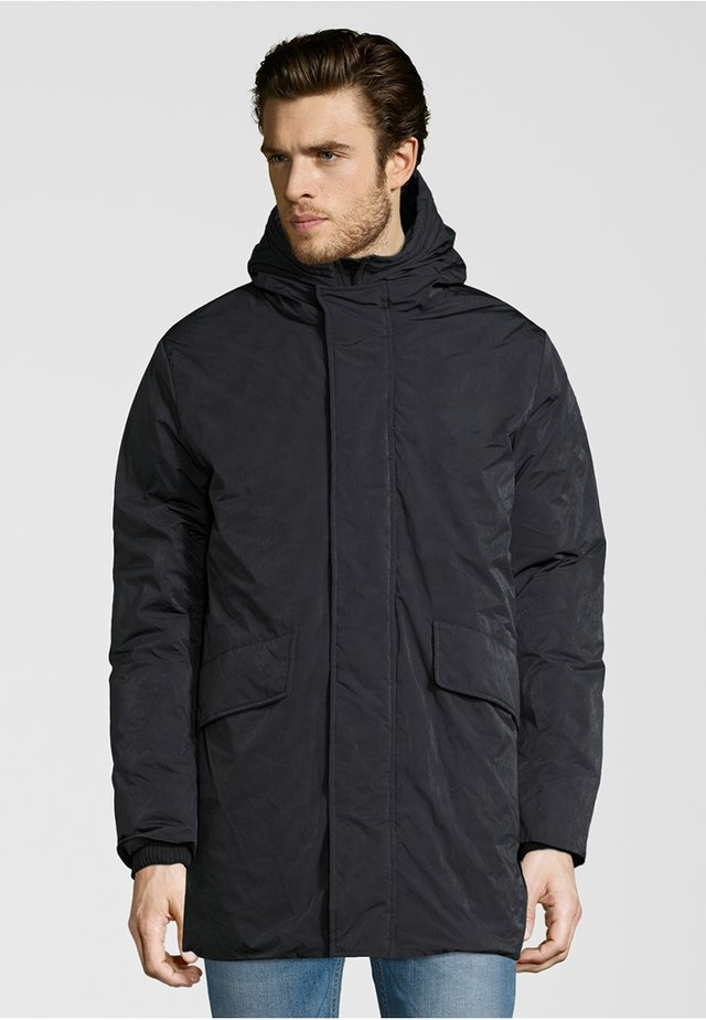 Down coat - graphite blue