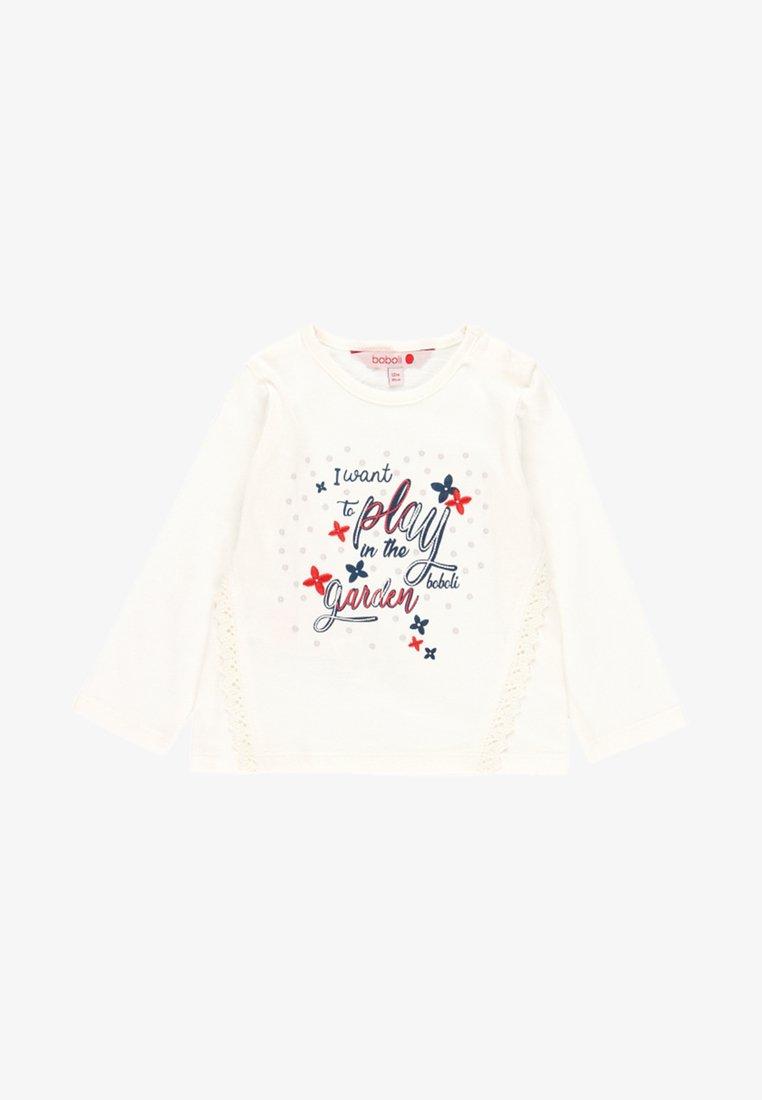 Boboli - T-shirt à manches longues - off white