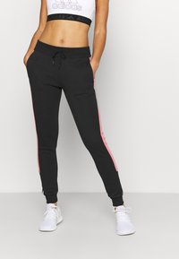 adidas Performance - Pantaloni sportivi - black/white - 0
