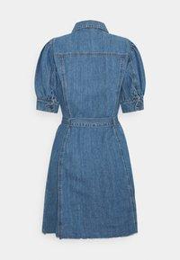 ONLY - ONLGERDA BELT DRESS - Dongerikjole - dark blue denim - 5