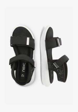 SPORTY - Walking sandals - black