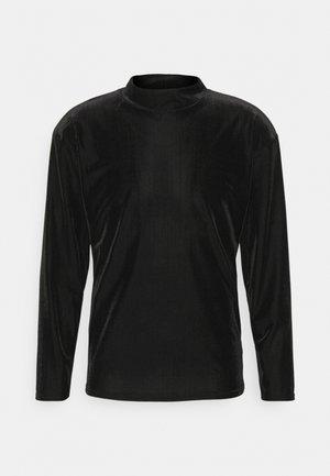 MOCK NECK LONGSLEEVE  - Sweater - black