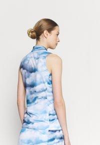 J.LINDEBERG - DENA SLEEVELESS GOLF - Top - cloud midnight/summer blue - 2