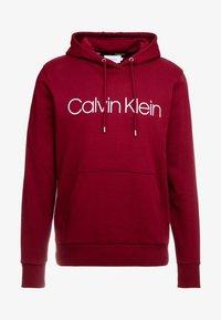 Calvin Klein - LOGO HOODIE - Sweatshirt - red - 3