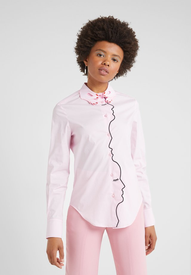 CAMICIA - Button-down blouse - pink