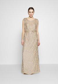 MANÉ - LAELIA DRESS - Suknia balowa - champagne/gold - 0
