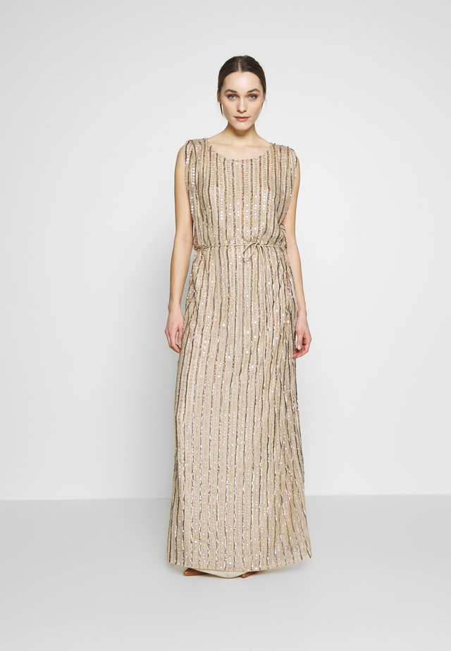 LAELIA DRESS - Robe de cocktail - champagne/gold