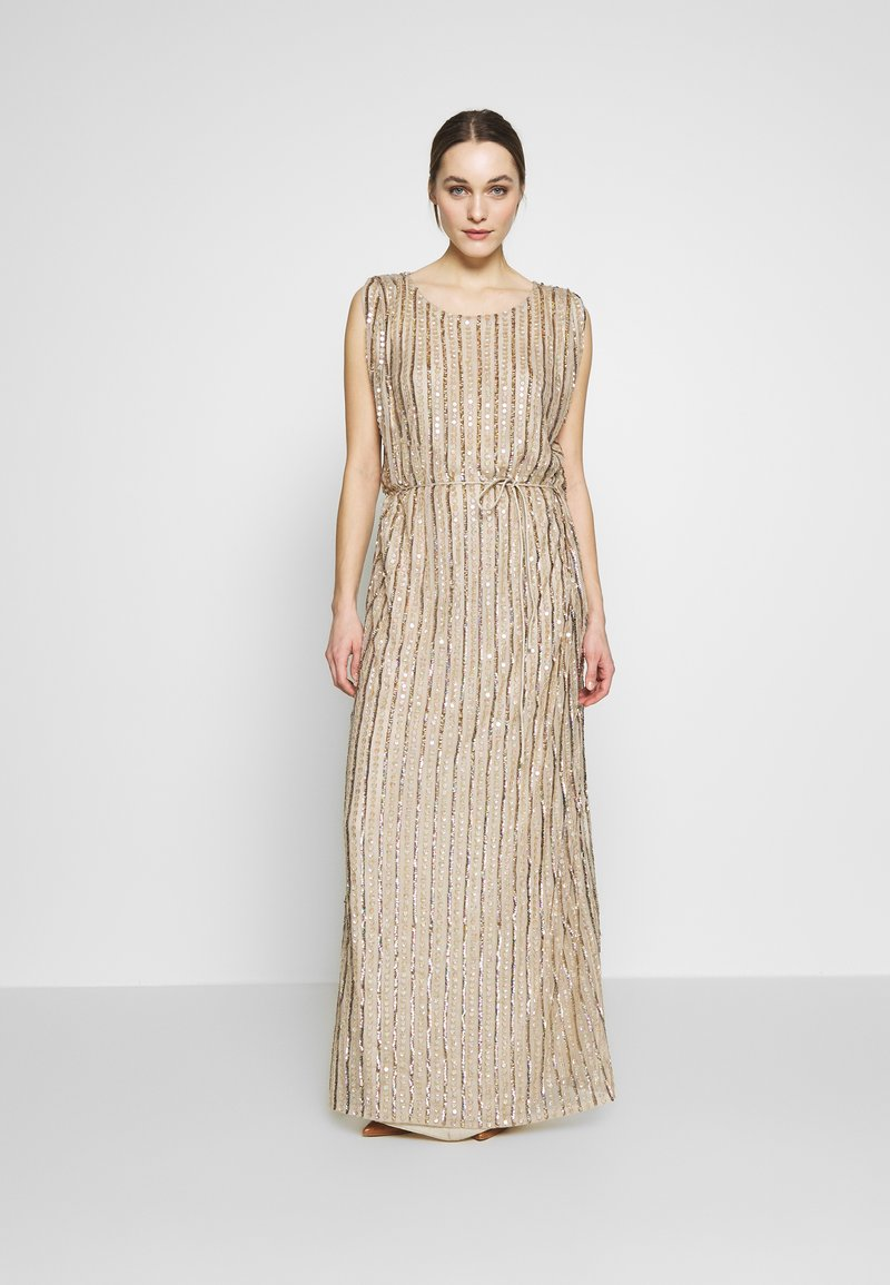 MANÉ - LAELIA DRESS - Suknia balowa - champagne/gold