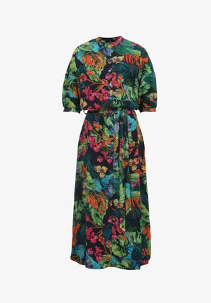TROPICAL MOTIF - Shirt dress - amazonas