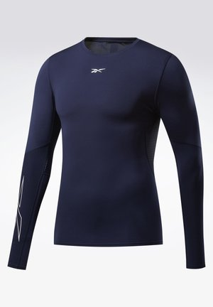 UNITED BY FITNESS COMPRESSION TEE - Sports shirt - blue