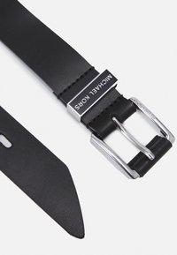 MICHAEL Michael Kors - BELT - Cinturón - black/silver-coloured - 2