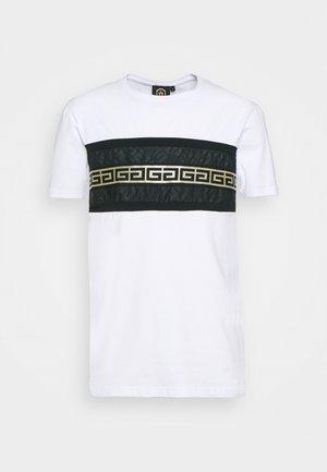RAMON TEE - T-shirt imprimé - optic white